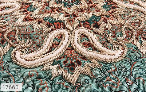عکس ترمه رومیزی سایز بزرگ طرح دار بته جقه - شماره 4