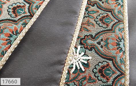 عکس ترمه رومیزی سایز بزرگ طرح دار بته جقه - شماره 5