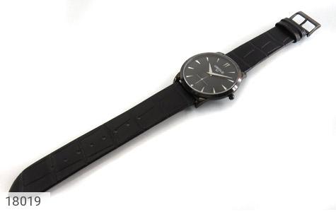 تصویر ساعت یونیک UNIQUE کلاسیک صفحه مشکی مردانه - شماره 2