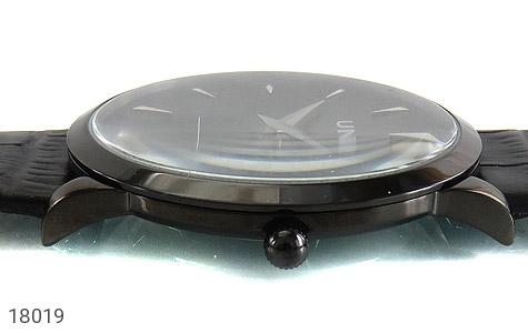 تصویر ساعت یونیک UNIQUE کلاسیک صفحه مشکی مردانه - شماره 3