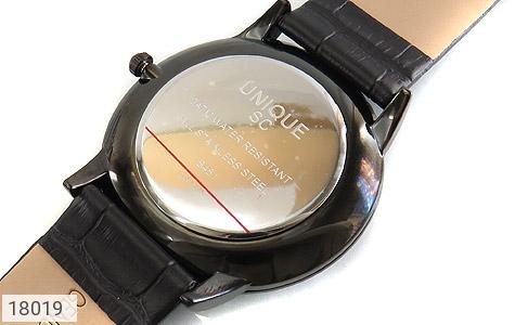 عکس ساعت یونیک UNIQUE کلاسیک صفحه مشکی مردانه - شماره 4
