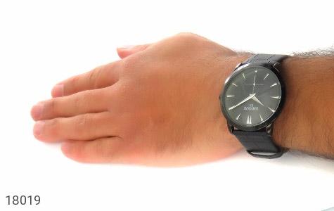 تصویر ساعت یونیک UNIQUE کلاسیک صفحه مشکی مردانه - شماره 6