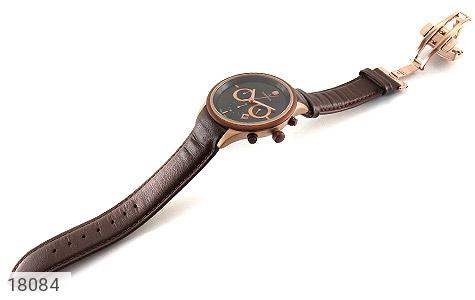 تصویر ساعت رمانسون بند چرمی Romanson کرنوگراف مجلسی مردانه - شماره 3