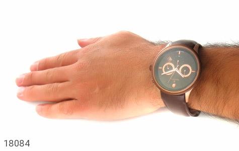 تصویر ساعت رمانسون بند چرمی Romanson کرنوگراف مجلسی مردانه - شماره 6