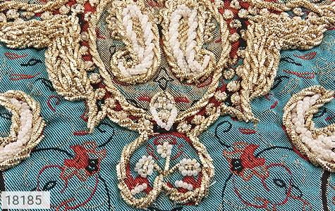 تصویر ترمه رومیزی سایز بزرگ طرح نشاط - شماره 3