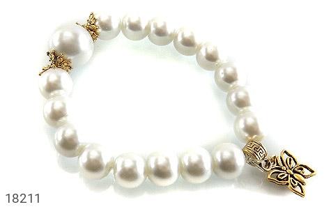 عکس دستبند مروارید سنتاتیک جذاب زنانه - شماره 1
