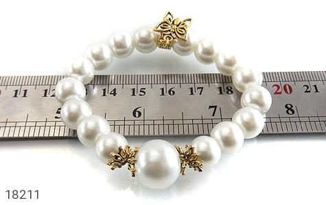 عکس دستبند مروارید سنتاتیک جذاب زنانه - شماره 5