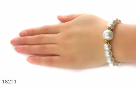 عکس دستبند مروارید سنتاتیک جذاب زنانه - شماره 6