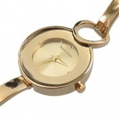 ساعت رمانسون Romanson مجلسی طلائی زنانه
