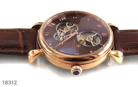 تصویر ساعت واشرون کنستانتین بند چرمی vacheron constantin مجلسی - شماره 3