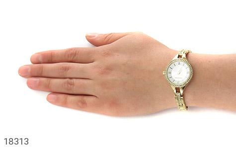 تصویر ساعت رمانسون Romanson دورنگین مجلسی طلائی زنانه - شماره 6