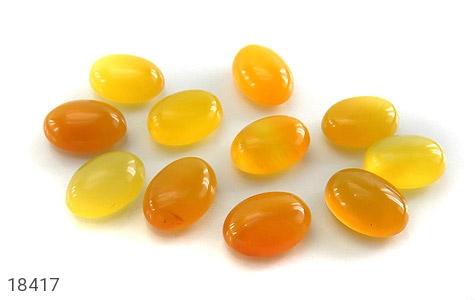 عکس نگین تک عقیق زرد شرف الشمس درشت - شماره 6