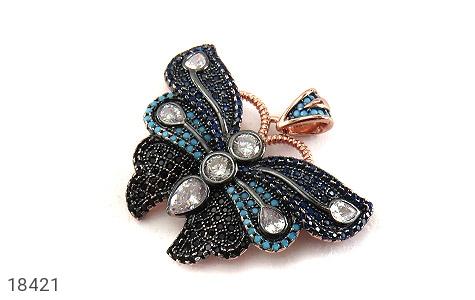 مدال نقره طرح نانو پروانه - 18421