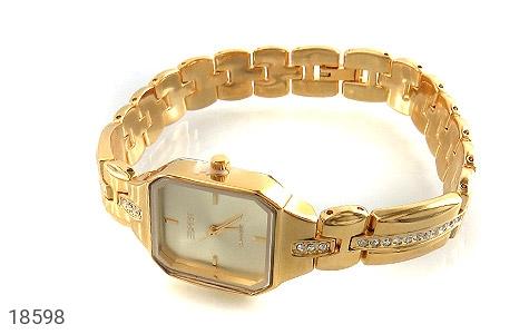 عکس ساعت اسپریت Esprit طلائی مجلسی زنانه
