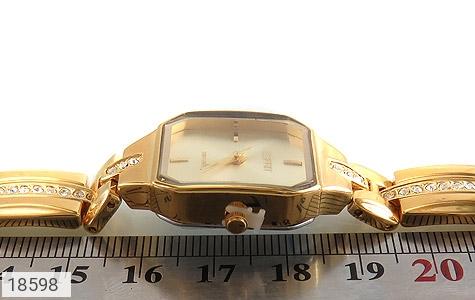 عکس ساعت اسپریت Esprit طلائی مجلسی زنانه - شماره 5
