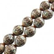 تسبیح کوک (کشکول) 33 دانه مرصع کاری صدفی فاخر