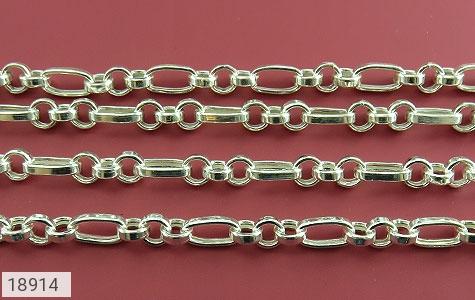تصویر زنجیر نقره 56 سانتی طرح جدید و فاخر - شماره 3