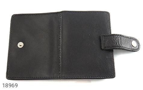 عکس کیف چرم طبیعی مشکی جاکارتی - شماره 4