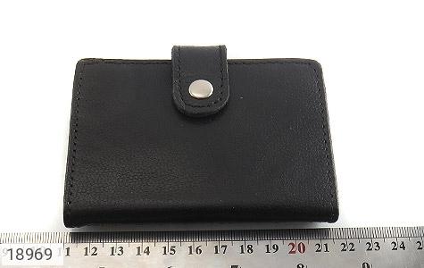 عکس کیف چرم طبیعی مشکی جاکارتی - شماره 7