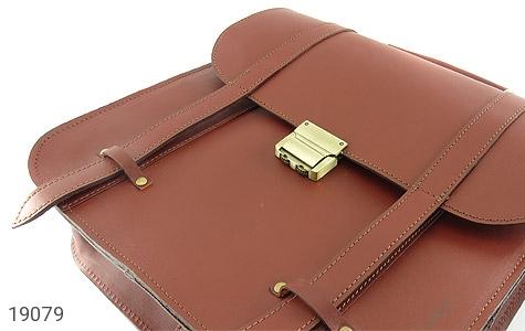 تصویر کیف چرم طبیعی بنددوشی و دستی قهوه ای - شماره 5