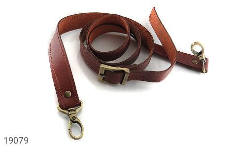 عکس کیف چرم طبیعی بنددوشی و دستی قهوه ای - شماره 9