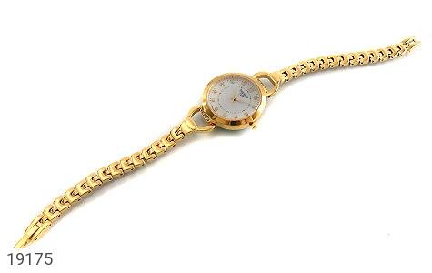 عکس ساعت تیسوت TISSOT نگیندار طلائی زنانه - شماره 2