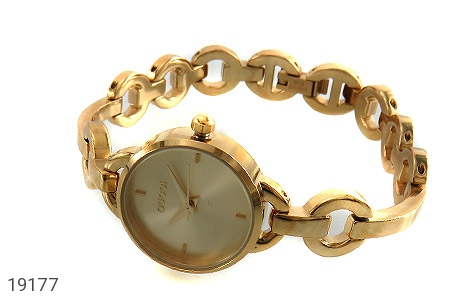 عکس ساعت گوچی Gucci طلائی مجلسی