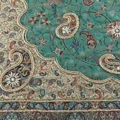 ترمه رومیزی بزرگ سنتی و خوش رنگ
