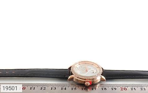 تصویر ساعت لنگر بند چرمی LANGAR بند مشکی مجلسی پرنگین زنانه - شماره 5