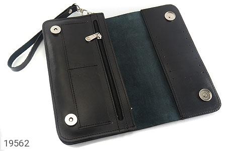 عکس کیف چرم طبیعی کیف مشکی - شماره 3