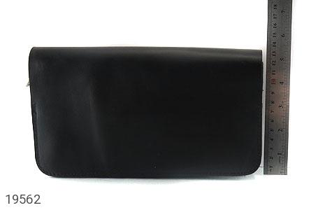 عکس کیف چرم طبیعی کیف مشکی - شماره 6