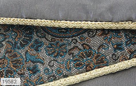 عکس ترمه رومیزی سایز بزرگ طرح شهناز - شماره 4