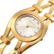 ساعت گوچی Gucci طلائی مجلسی زنانه