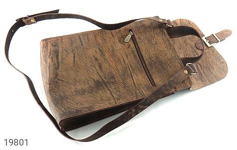 عکس کیف چرم طبیعی خاکی طرح ابروبادی دستی یا دوشی اسپرت - شماره 5