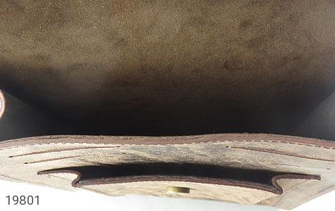 تصویر کیف چرم طبیعی خاکی طرح ابروبادی دستی یا دوشی اسپرت - شماره 6
