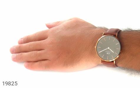 تصویر ساعت دنیل ولینگتون بند چرمی daniel wellington DW صفحه مشکی مردانه - شماره 6