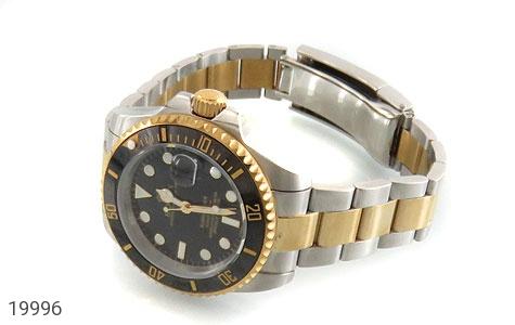 عکس ساعت رولکس مجلسی دو رنگ زه قاب چرخشی مردانه Rolex