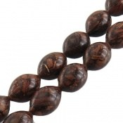 تسبیح چوب 33 دانه دارچین خوش عطر کم نظیر