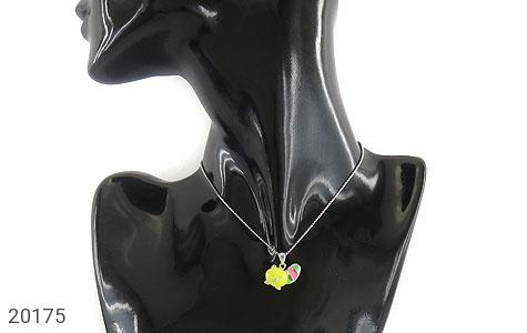 تصویر سرویس نقره انگشتر فری سایز طرح فانتزی بچه گانه - شماره 10