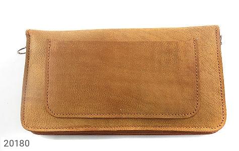عکس کیف چرم طبیعی دستی یا دوشی زیبا زنانه - شماره 3
