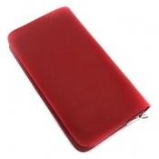 کیف چرم طبیعی دستی یا دوشی قرمز لوکس زنانه