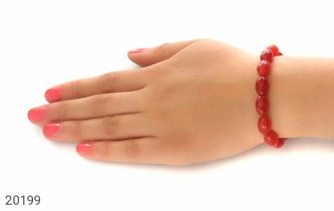 تصویر دستبند عقیق هلی زیبا زنانه - شماره 5