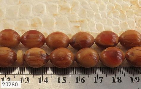 تصویر تسبیح سندلوس لبنان معطر و زیبا 33 دانه - شماره 4