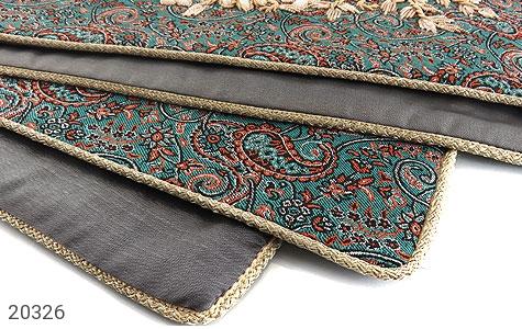 تصویر ترمه رومیزی سایز بزرگ طرح سنتی و فاخر - شماره 3