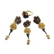 سرویس نقره طرح گل آویز سلطنتی