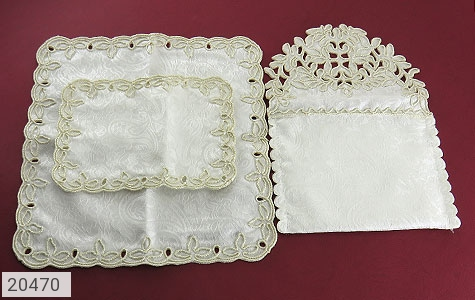 تصویر سرویس جانماز کیف دار عروس - شماره 3
