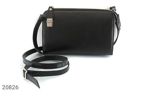 تصویر کیف چرم طبیعی مشکی دستی یا دوشی شیک و اسپرت - شماره 1