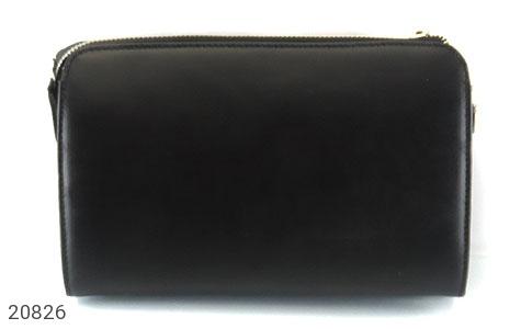 عکس کیف چرم طبیعی مشکی دستی یا دوشی شیک و اسپرت - شماره 3