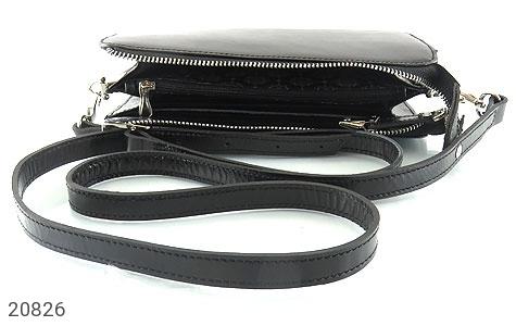 تصویر کیف چرم طبیعی مشکی دستی یا دوشی شیک و اسپرت - شماره 5