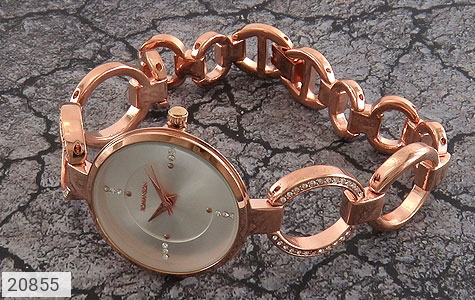 عکس ساعت رمانسون مجلسی نگین دار زنانه Romanson